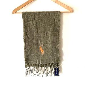 NWT Polo Ralph Lauren wool scarf